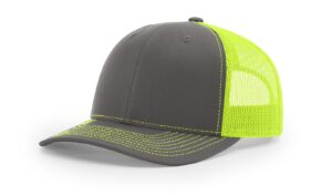 R112 Charcoal Neon Yellow