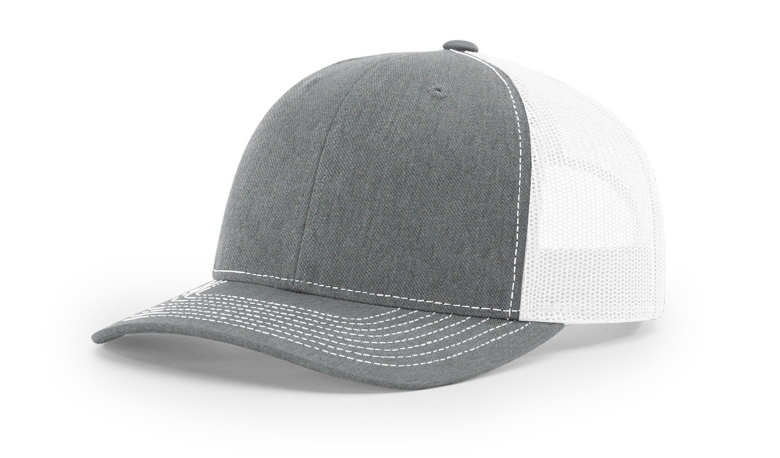 R112 Heather Grey White